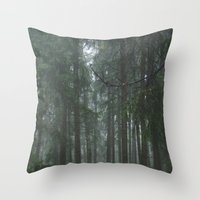 Forest#1 Throw Pillow