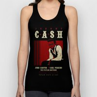 Cash Live at Folsom Prison Unisex Tank Top