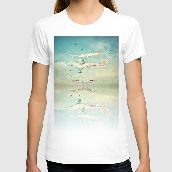 Never Stop Exploring III T-shirt