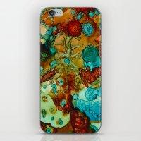Flora Beginnings Abstrac… iPhone & iPod Skin