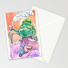 Smokin' Lady Box mystery  Stationery Cards