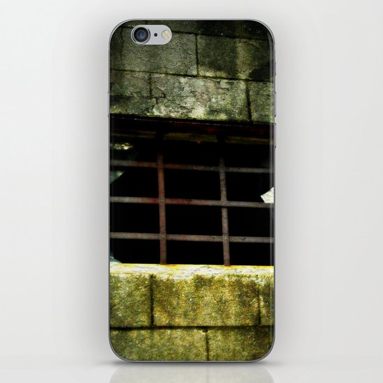 The Gradual Death Of Confinement Behind Bars iPhone & iPod Skin