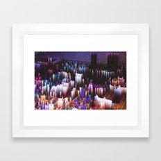 1970 Las Vegas Framed Art Print