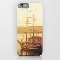 Tall Ship on Waterfront iPhone 6 Slim Case
