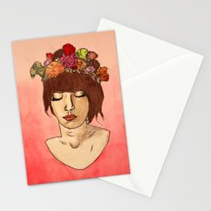 Is She Down To Earth or Just Hipster? Stationery Cards