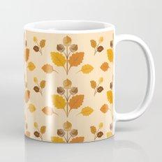 Fall Acorns Pattern Mug
