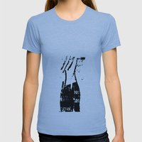 Untitled Womens Fitted Tee Athletic Blue SMALL
