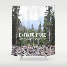 Explore More Shower Curtain