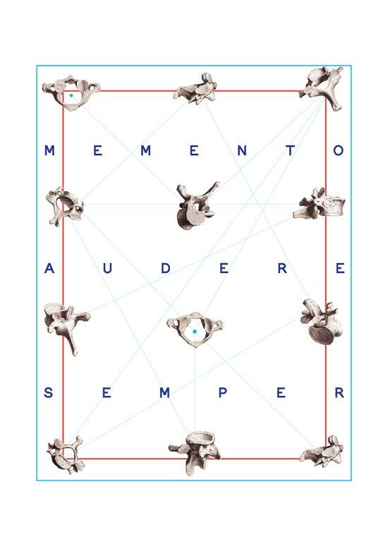Memento Audere Semper Art Print