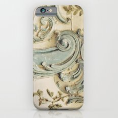 Blue Lace of Versailles iPhone 6 Slim Case