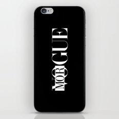 MORGUE iPhone & iPod Skin
