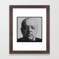 Mies van der Rohe Portrait  Framed Art Print