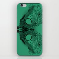 Winged Beauty iPhone & iPod Skin