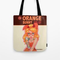 Oranges Bunny PIN UP Mag… Tote Bag