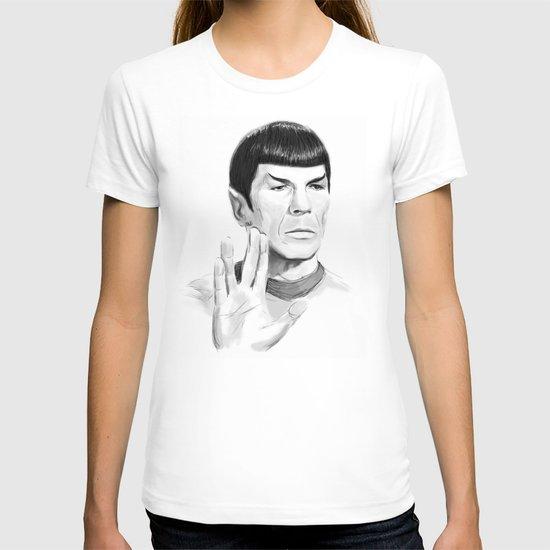 Spock Portrait Star Trek T-shirt
