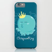 iPhone & iPod Case featuring Octopus King by Raven Ngo