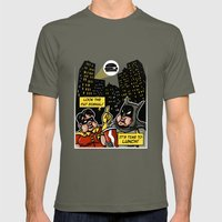 Fatman and Big Belly Mens Fitted Tee Lieutenant SMALL