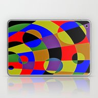 Abstract #95 Gravity Laptop & iPad Skin