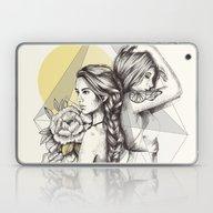 Queens Of The Flowers Laptop & iPad Skin