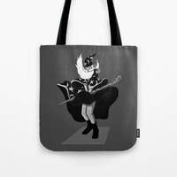 Merlin Monroe Tote Bag