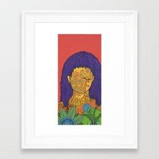 Ukrainian Flowers Framed Art Print