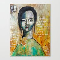 Love Girl Canvas Print