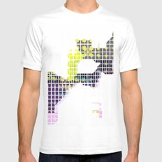 Map White Mens Fitted Tee SMALL
