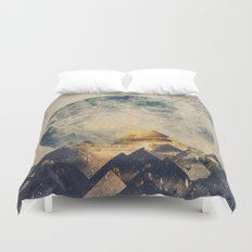 One Mountain At A Time Duvet Cover