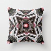 Internal Kaleidoscopic Daze- 1 Throw Pillow