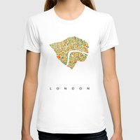 london T-shirts featuring London by Nicksman