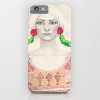 Two Red Flowers iPhone 6 Slim Case
