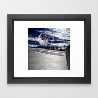 Framed Art Print featuring Moon Phenomenon by Lo Coco Agostino