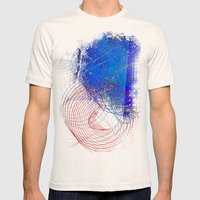 String Theory 03 Mens Fitted Tee Natural SMALL