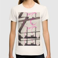 Shine Womens Fitted Tee Natural SMALL