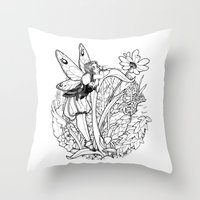 Soñadora Throw Pillow