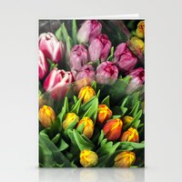 Tulips At Market Stationery Cards