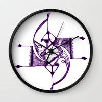 Ruskova Wall Clock