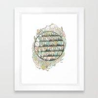 Shape+colour  Framed Art Print