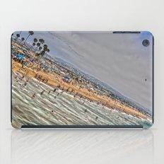 Beach Painting. iPad Case