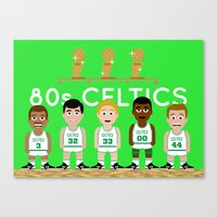 The 1980s Celtics Canvas Print