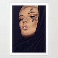 Golden Night Art Print