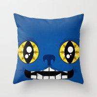 Adorable Beast Throw Pillow