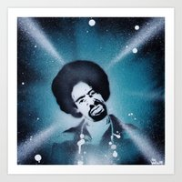 Mac Dre Stencil Art Port… Art Print