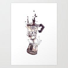 If All Else Fails, Coffe… Art Print