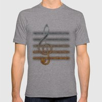 A Song of... Mens Fitted Tee Athletic Grey SMALL