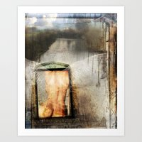 Archangel Haniel Art Print