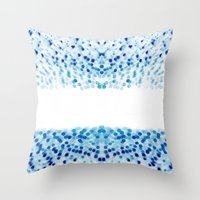 Upon Reflection II Throw Pillow