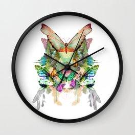 Wall Clock - The fate of the butterfly - Eduardo Doreni