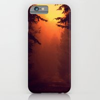 iPhone & iPod Case featuring One Foggy Morning by Rachel Burbee