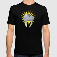 Walrus Mens Fitted Tee Black SMALL